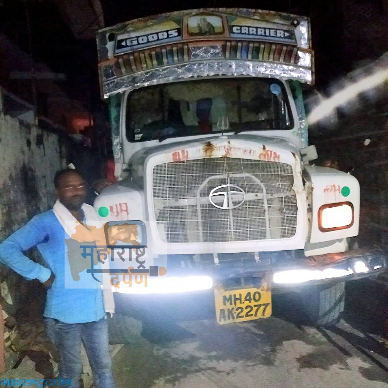 तुकाराम नगरची नाली तोडणा-या ट्रक व चालकावर कारवाई करा :  शेंदरे, पाटील यांची मागणी