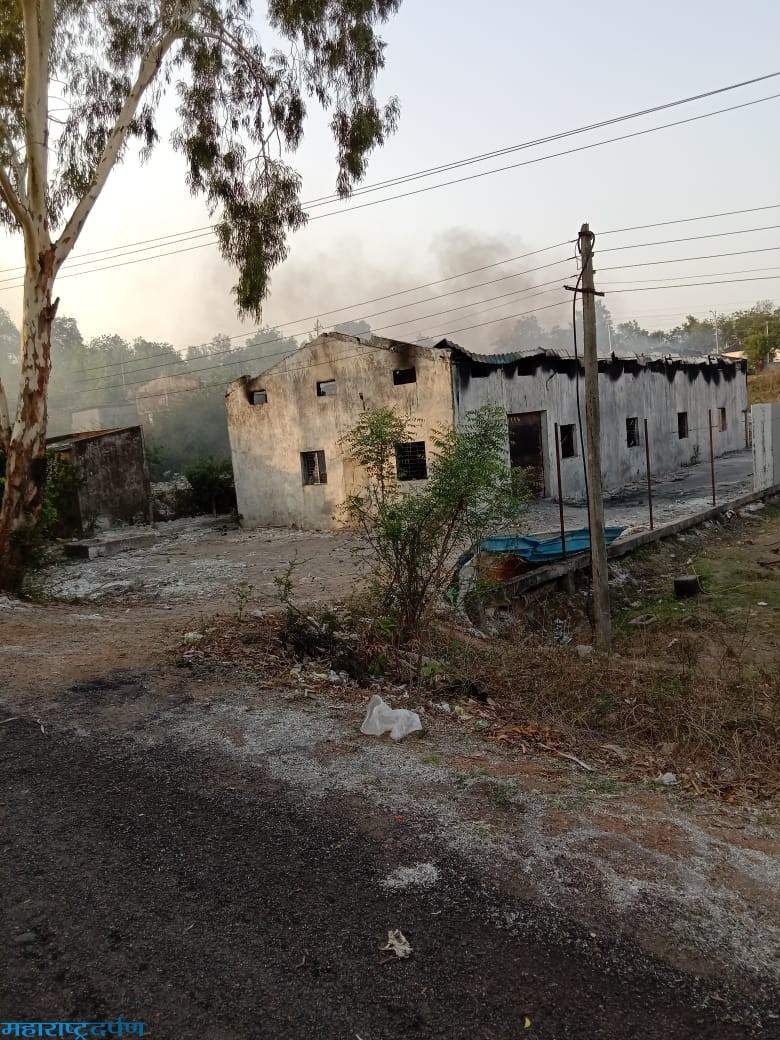 पाराशिवनी येथे गौतम पाँलीमार कंपनीला आग*यंत्रसामग्री सह पक्कामाल जळाला : २कोटी ५२लाखाचे नुकसान